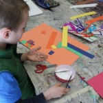 Child Creating Art - Kids Art Essentials Art Class by Hunakai Studios