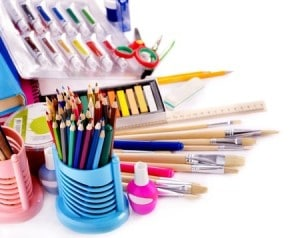 Back to School Art Supplies